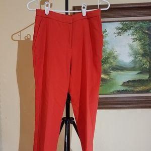 H&M red dress pant m7
